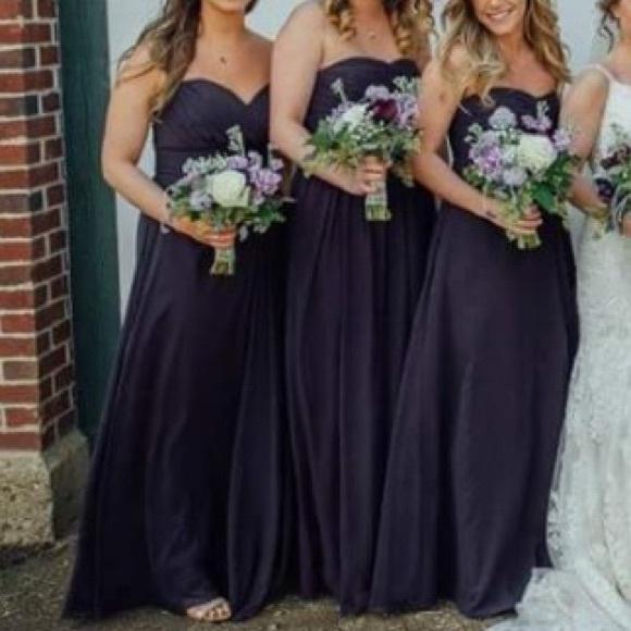 f461417b78 Bill Levkoff Dresses   Skirts - Bill Levkoff style 978 bridesmaid dress in  Plum